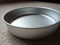 6 inch aluminium cake tin