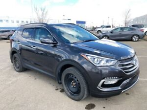 2017 Hyundai Santa Fe Sport Luxury AWD- Winter Tires, Navigation