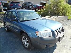 CHEAP ! 2007 FORESTER ! AWD , NEW TIRES AS IS - NO MVI