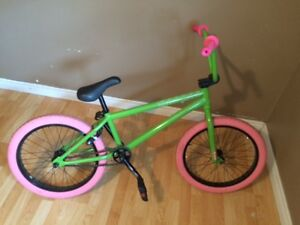 Sunday BMX bike spark made to look like watermelon