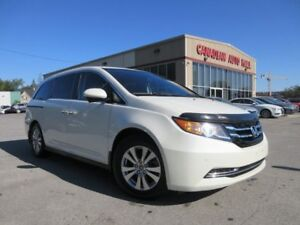 2015 Honda Odyssey EX-L w/RES, LEATHER, ROOF, 53K!
