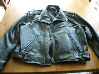 2 JACKET cuir 1 large homme 1 small homme