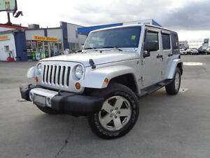 2008 Jeep Wrangler Sahara, POWER GROUP, NO ACCIDENTS!!