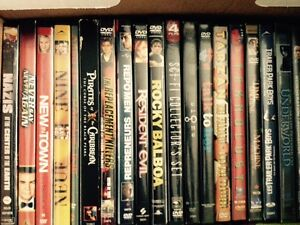 DVD collection for sale - $2 to $8 each