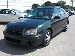 ALL WHEEL DRIVE !   2004 Subaru Impreza TS