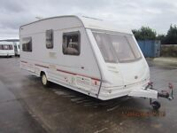2000 STERLING ECCLES ONYX 4 BERTH FIXED BED CARAVAN
