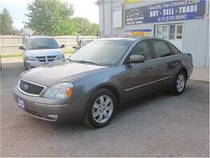 2005 Ford Five Hundred SEL|NO ACCIDENTS|SUNROOF|MUST SEE Kitchener / Waterloo Kitchener Area image 3