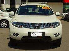 2009 Nissan Murano Z51 TI White 6 Speed Constant Variable Wagon Garbutt Townsville City Preview
