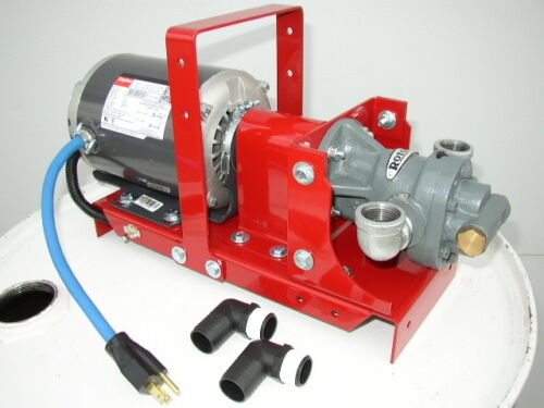 New 1/2 HP Redline Waste/Bulk Oil Transfer Pump, Biodiesel,WVO, FREE SHIPPING!!!