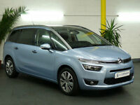 CITROEN GRAND C4 PICASSO 1.6e-HDi 115 EXCLUSIVE+ 5 DR DIESEL MANUAL