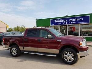 2006 Ford F-150 XTR,SUPERCREW/4X4/FRESH SAFETY $12500 TODAY ONLY