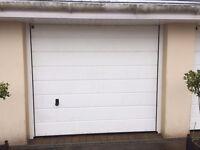 Hormann White Electric Garage Door