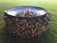 HUGE Fire Pit / BBQ / Log Burner