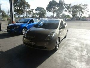 2004 Toyota Prius NHW20R Hybrid Gold Continuous Variable Hatchback Warwick Farm Liverpool Area Preview