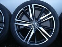 "Volvo XC90-XC60-XC40 21"" alloy wheels and tyres"