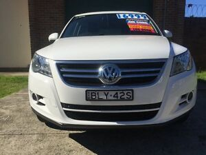 2009 Volkswagen Tiguan 5NC MY10 103 TDI White 6 Speed Tiptronic Wagon Campsie Canterbury Area Preview