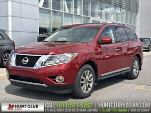 2015 Nissan Pathfinder SL 4WD | Navi, Dual Moonroof, Leather Htd
