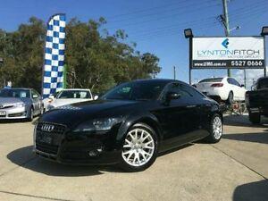 2008 Audi TT 8J S tronic Black Semi Auto Coupe Southport Gold Coast City Preview