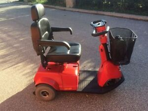 Fortress 1700TA Red 3-Wheel Mobility Scooter