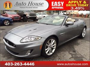 2013 Jaguar XK XKR CONV, NAV, BCAM, SUPERCHARGED 90 DAY NO PYMT
