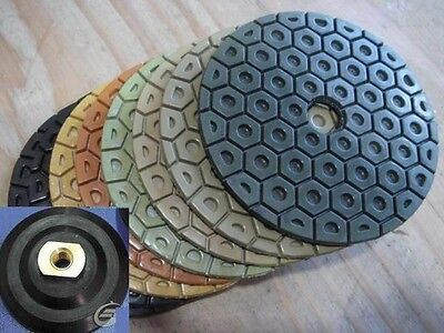7 Inch Diamond Polishing Pad 171 Granite Concrete Stone Grinder Polisher Sander