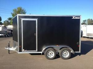 New 2017 Xpress 7' x 12' Aluminum Enclosed Trailer