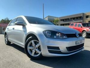 2015 Volkswagen Golf AU MY16 92 TSI Silver 7 Speed Auto Direct Shift Hatchback Edgeworth Lake Macquarie Area Preview