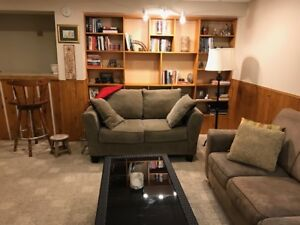 Spacious New Sudbury basement rental for September 1/2018