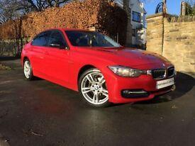 BMW 3 SERIES 2.0 316D SPORT 4d AUTO 114 BHP 1OWNER+BMWSH+12M MO (red) 2012
