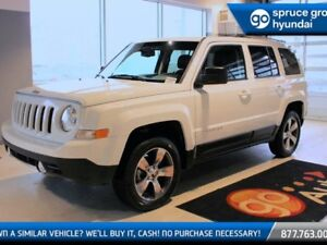 2016 Jeep Patriot HIGH ALTITUDE 4X4 LEATHER ROOF BLUETOOTH FOG L
