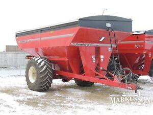 2015 Unverferth 9250 Grain Cart - 1000+ bu, 410 Scale,Hyd Drive