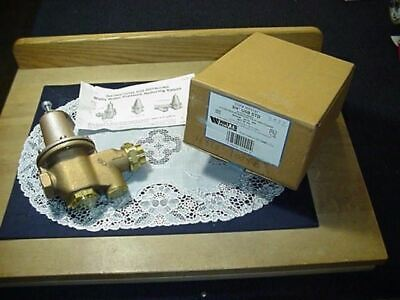 Watts 34 U5b Std Water Pressure Reducing Valve Range 25-75 Psi Set 50 Psi New