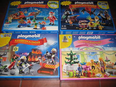 PLAYMOBIL CALENDARI DELL' AVVENTO - ADVENT CALENDAR  ADVENTSKALENDER nuovo New