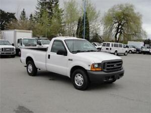 2000 FORD F-250 SUPER DUTY XL REGULAR CAB LONG BOX 3/4 TON