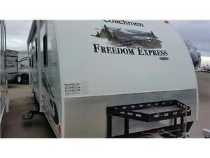 2011 FREEDOM EXPRESS 260BL PULL TOYHAULER ONLY $26,990