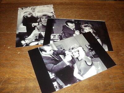 SHEILA LOT DE PHOTOS FORMAT 10*15 N&B - THEME 041 COIFFEUR - 3 PRISES