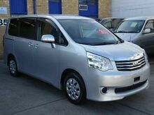 2010 Toyota Noah Townace 70 Series Silver 5 Speed CVT Auto Sequential Wagon Caringbah Sutherland Area Preview
