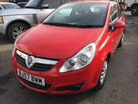 2007 Vauxhall Corsa 1 litre engine, Starts and drives fantastic, 66,000 miles, very low! Clean car