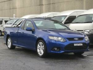 2012 Ford Falcon FG MK2 XR6 (LPi) Blue 6 Speed Automatic Utility Revesby Bankstown Area Preview