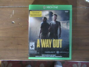 xbox one a way out mint condition $25