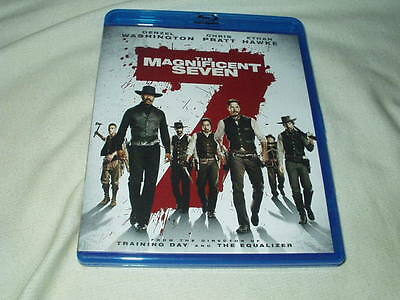 The Magnificent Seven  2016  Blu Ray Denzel Washington Chris Pratt Ethan Hawke