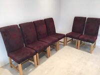 6 Dining Chairs - Great Condition