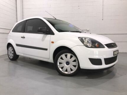 2008 Ford Fiesta WQ LX White 5 Speed Manual Hatchback Windsor Hawkesbury Area Preview