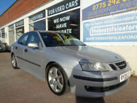 Saab 9-3 1.9TiD ( 150bhp ) 2005 Vector Sport Sat Nav Leather