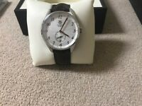TAG Heuer Carrera 39 Automatic Silver Dial Calibre 6 lovely condition WAS2112
