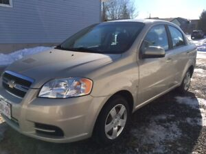 2009 CHEV AVEO - Excellent condition, low KMs