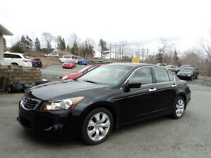FINANCE ! 08 Accord Sdn EX-L with NAVIGATION! FULLY LOADED! V6 !