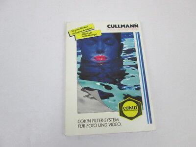 Cullmann Foto Audio Video. Cokin Filter-System für Foto und Video, 1990.