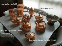 Copper pieces 7 and up