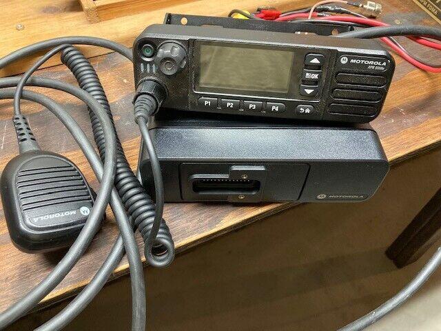 Motorola XPR5550e 403-470 MHZ - High Power model 45 watts. Buy it now for 325.00